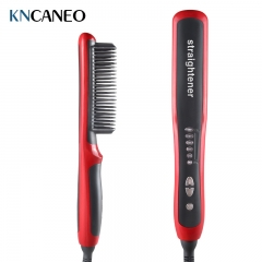 HQT-908B Anion straight comb. red one size