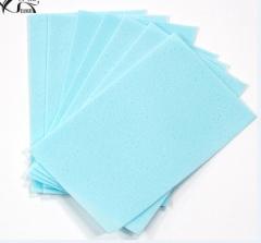 Laundry Detergent Sheet  Nano Super Concentrated Washing Powder For Washing Machine Bule 100Pcs