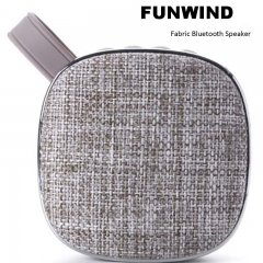 Funwind Wireless Bluetooth Acoustic Portable Pengbai sound quality pure rich level sense brown portable