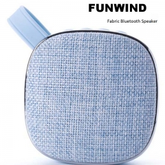 Funwind Wireless Bluetooth Acoustic Portable Pengbai sound quality pure rich level sense blue portable