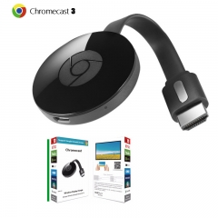 Google third Generation Chromecast Wireless same screen,Support for Google APP black