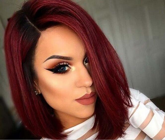 women straight wig red wigs sexy style wigs synthetic wigs hair ... cb6b3a807