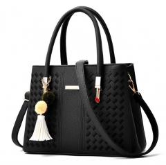 women shoulder bag OL hand bag high quality PU leather bag 2018 new design elegant handbags 4 color black nomal
