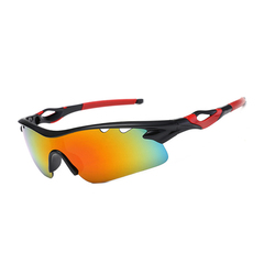 New Arrival Cycling Sports Sunglasses Cycling Glasses Running Fishing Golf Glasses black mirror lens Unisex