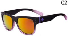 New Fashionable SPY+ Sunglasses Women Men Unisex Glasses Purple black unisex