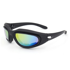 China Manufacturers Onion Goggles CE EN166f ANSI Z87 Safety Glasses Only One Glasses