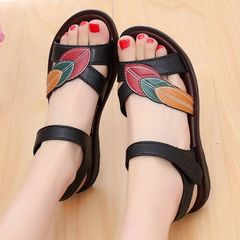 New Arrival Women Shoes 2019 Fashion Summer Sandal Black 36
