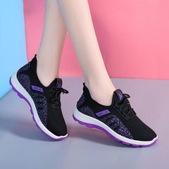 2019 Hot Selling Sports Shoes Running Shoes flat shoes sport shoes mesh shoes casual shoes Purple 39