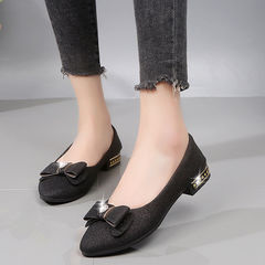 New Arrival Fashion Women Shoes Wedding Shoes Office Lady shoes Flats black 35