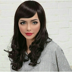 women unique short gradient color wigs hair sexy wigs hair party sexy wear summer new style wigs as picture normal