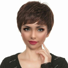 New Style Fashion wigs women's  straight Hair Brown bob wigs Brown Normal