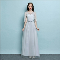 High Quality Women Dresses LWedding Party Daily Dress For Women Ladies normal(for 40kg-58kg) grey