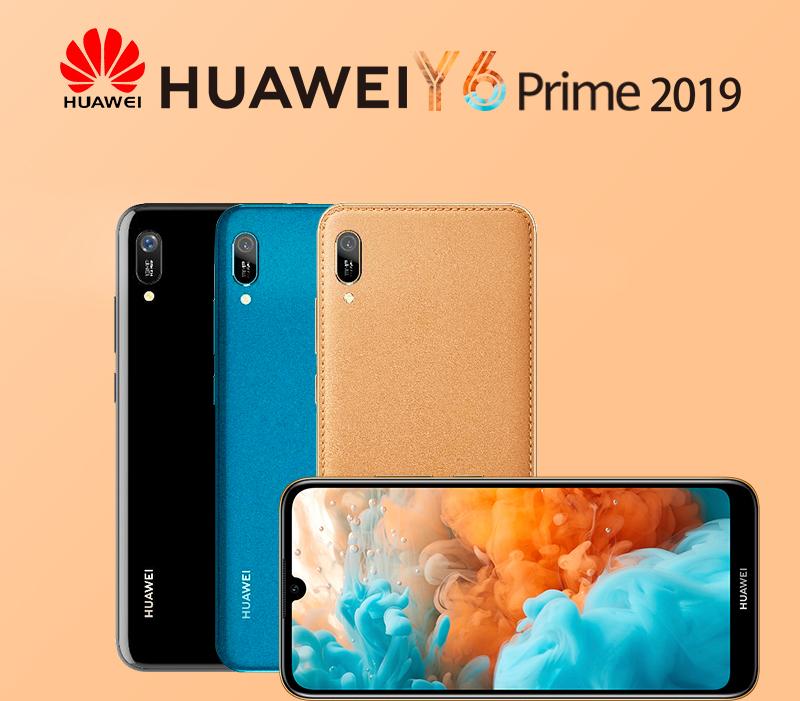 HUAWEI Y6 Prime 2019 Smartphone Midnight Black 1