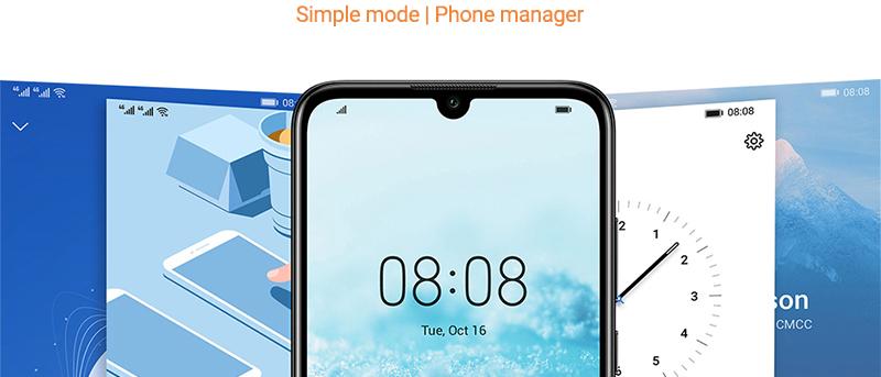 HUAWEI Y6 Prime 2019 Smartphone Midnight Black 12