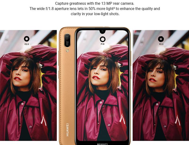HUAWEI Y6 Prime 2019 Smartphone Midnight Black 7