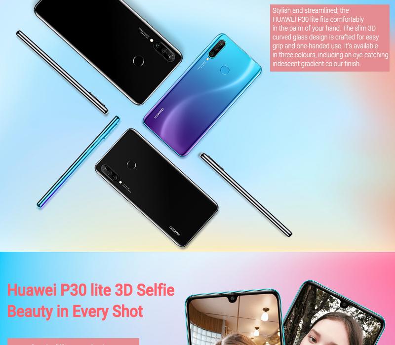 HUAWEI P30 LITE 4GB+ 128GB Peacock blue 4