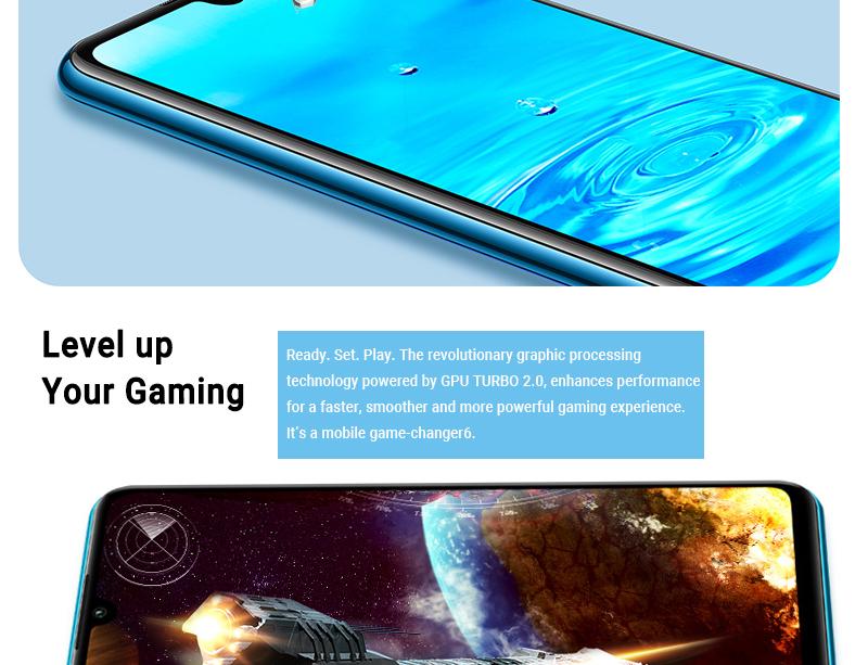HUAWEI P30 LITE 4GB+ 128GB Peacock blue 7