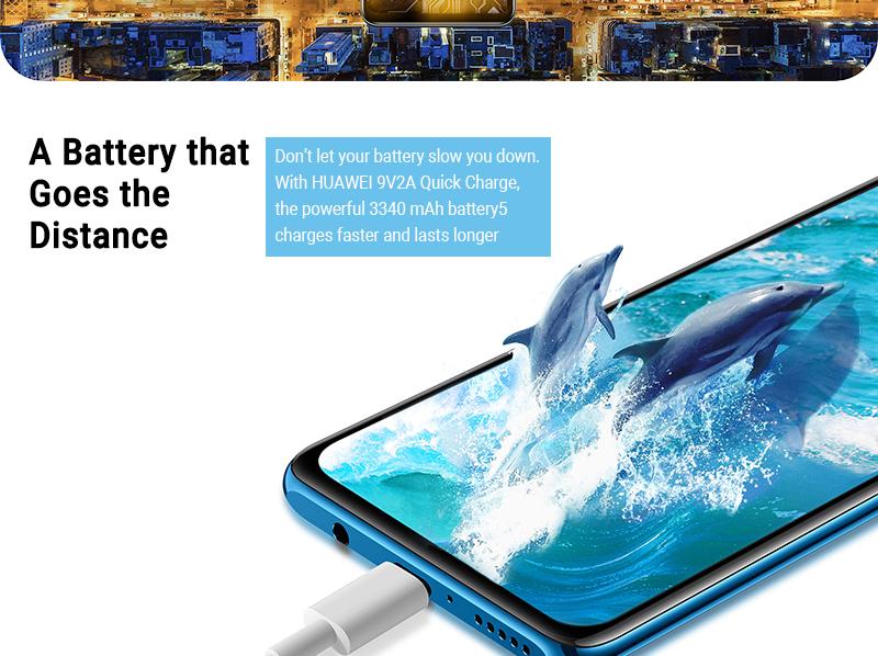 HUAWEI P30 LITE 4GB+ 128GB Peacock blue 9