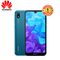 HUAWEI Y5 2019,  2GB RAM + 32 GB ROM Smartphone + Free Selfie Stick sapphire blue