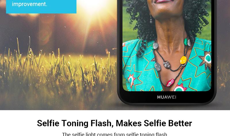 HUAWEI Y5 2019,  2GB RAM + 32 GB ROM Smartphone + Free Selfie Stick sapphire blue 6