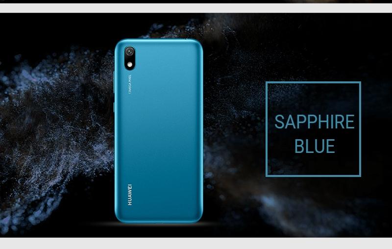 HUAWEI Y5 2019,  2GB RAM + 32 GB ROM Smartphone + Free Selfie Stick sapphire blue 16