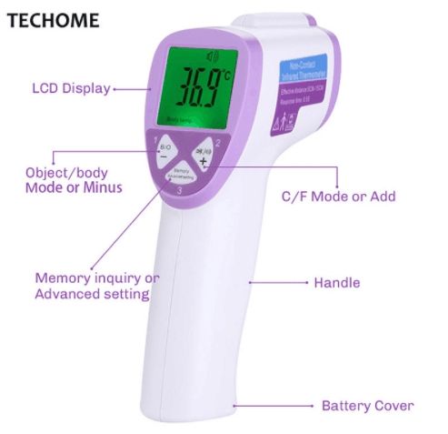Diagnostic-tool Digital Thermometer For Baby  Thermometer Body Temperature Measure Pictured 12cm