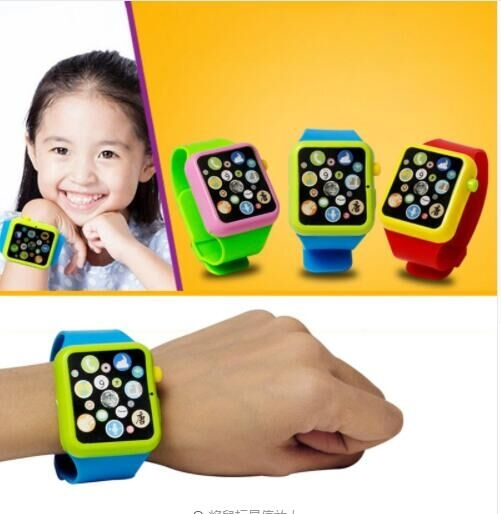Kids Children Smart Watch Early Education 3D Touch Screen Music Learning Machine Wristwatch Toy random color one  size