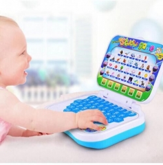 New Baby Kids Pre School Educational Learning Study Toy Laptop Computer Game Educational Toy Send  Random as above