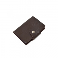 Fashion Korean Style Ladies Card Holder Mini Multi-card Bit Anti-demagnetization Credit Card Pack brown one size