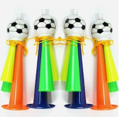 2018 Russia World Cup Football Fans Cheer props Football Shape trumpet Cheer for Your Favorite Team as shown s