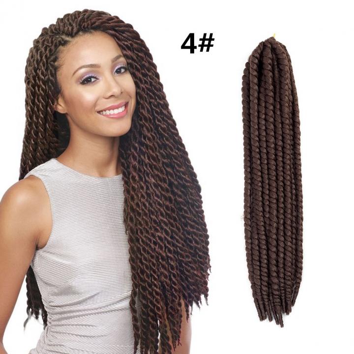 Kilimall 22 Women Twist Crochet Dreadlocks Braid Hair Extensions