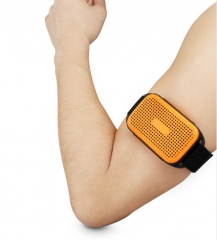 New Style Arm Wearable Wrist Running Riding Bluetooth Speakers for Outdoor Sport Speakers yellow one  size