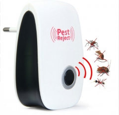 Electronic Repeller Reject Rat Ultrasonic Insect Repellent Mouse Anti Rodent Bug Reject EU US Plug picture color One size