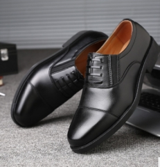 2018 New Shoes Soft Non-slip Wear Business Fashion Casual Shoes Black 38 as  picture