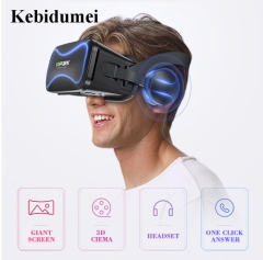 VR Box Virtual Reality Glasses 3 D 3d Goggles Headset Helmet For Smartphone Smart Phone As picture As picture As picture