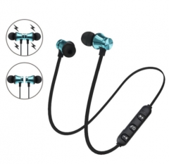 Wireless Bluetooth Headset Sport Running Stereo Bluetooth Earphone Smartphone In Ear Sweatproof Black blue