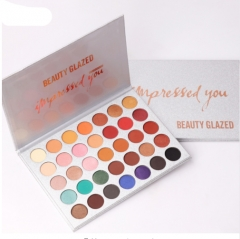 35Color Eyeshadow Glitter Makeup Matte Eye Shadow Long-lasting Make Up Palette Maquillage As pictured
