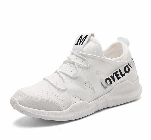Sports Shoes  All-match White Shoes Height Increasing  Shoes Air Breathable Sport Shoes White 39