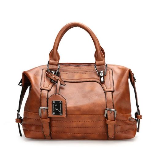 31682cbd56e5 Luxury Handbags Women Bag Oil Wax Designer Bags Women s Leather Handbags  Big Casual Tote Bags brown one size  Product No  2876341. Item specifics   Brand
