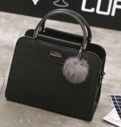 Casual PU Leather Women Handbags Ladies Small Shopping Bag Shoulder Messenger Crossbody Bags Black one size