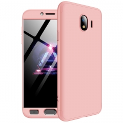 Frosted Hard PC Back Cover Full Body Detachable Parts Case for Samsung Galaxy J4 2018 J400M/DS pink Samsung Galaxy J4 2018 J400M/DS
