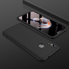 Frosted Hard PC Back Cover Full Body Shockproof Protective 3 Detachable Parts Case for VIVO X21 black VIVO X21