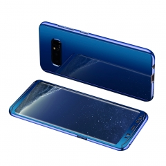 Shockproof PC Hard Back Slim Cover 2 in 1 Protection with Screen Protector for Samsung Galaxy Note 8 blue Samsung Galaxy Note 8