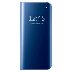 S-View Flip Case Ultra Slim Translucent Mirror Smart Case Cover for  Samsung Galaxy S7 blue samsung galaxy s7