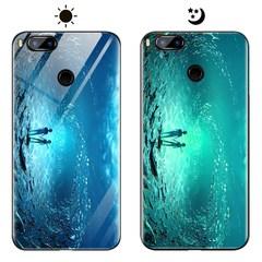 Dream Luminous Tempered Glass Back Case For Xiaomi Mi A1 Mi 5X eternal sea xiaomi mi a1/mi 5x