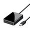 USB C Hub, USB C Adapter, 7 in 1 Multiport Adapter, VGA, USB 3.0 ports, HDMI, Card Reader Black S1608
