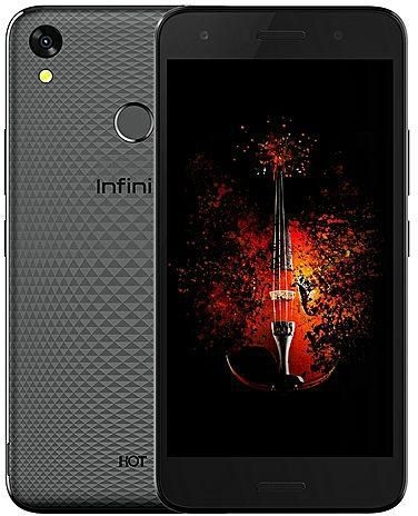"INFINIX HOT 5 X559C, 5.5"" Screen, 16GB ROM+2GB RAM, 8+5MP,print scanner  - Black black"