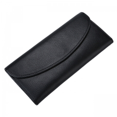 Genuine Leather Luxury Women Long Wallet Lady Slim Purse Female Clutch Money Bag Thin Wallets W3 all size
