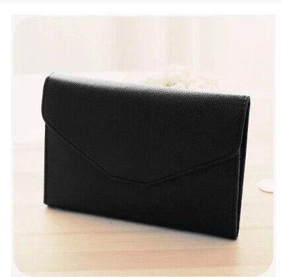PU Women Credit Card Small Wallet Purse Money Clips Solid Pocket Zipper Passport Holder black all size: Product No: 1348732. Item specifics: Brand: