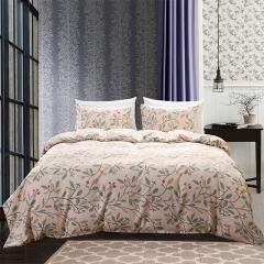 Duvet Cover Set Comforter Bedding Wedding Gift Pillowslip Pillowcase 3Pcs  Flower Printed Beautiful luxury king